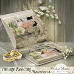 SK Vintage wedding photobook