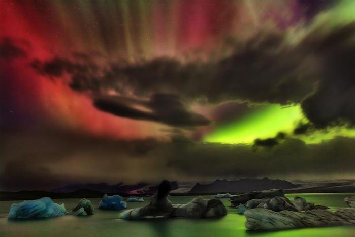 Красивые фотографии полярного сияния 0 10d61f 4d61258e orig