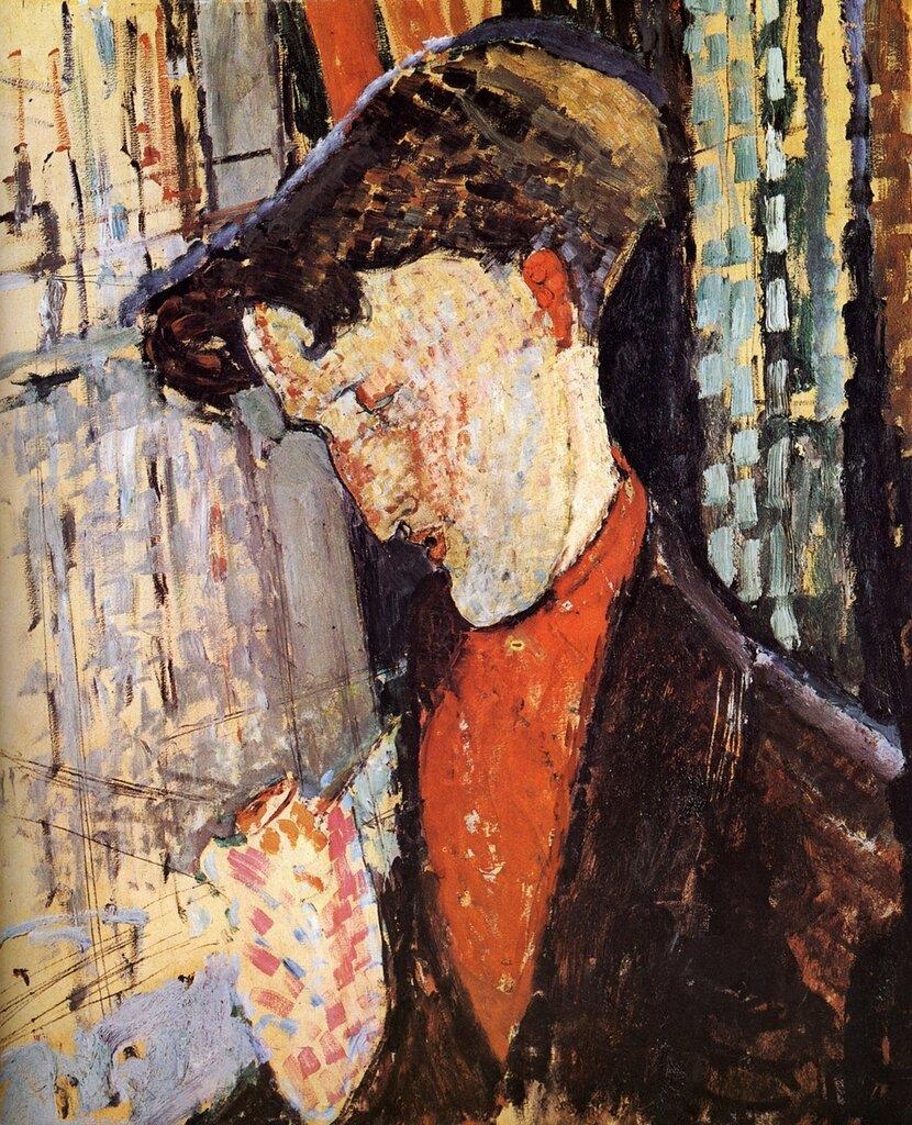 Etude pour le portrait de Franck Burty Havilland - 1914 - Huile sur Toile. Los Angeles, County Museum.jpg