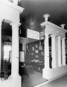 Павильон акционерного общества Словолитни О.И.Леман (Санкт-Петербург и Москва) на Царскосельской юбилейной выставке.