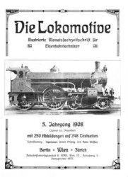 Журнал Die Lokomotive 5.Jaghrgang (1908)