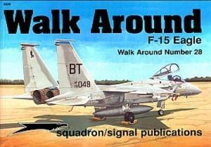 Книга Squadron/Signal Walk Around 28 - F15 Eagle