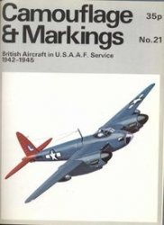 Книга Camouflage & Markings Number 21: British Aircraft in U.S.A.A.F. Service 1942-1945