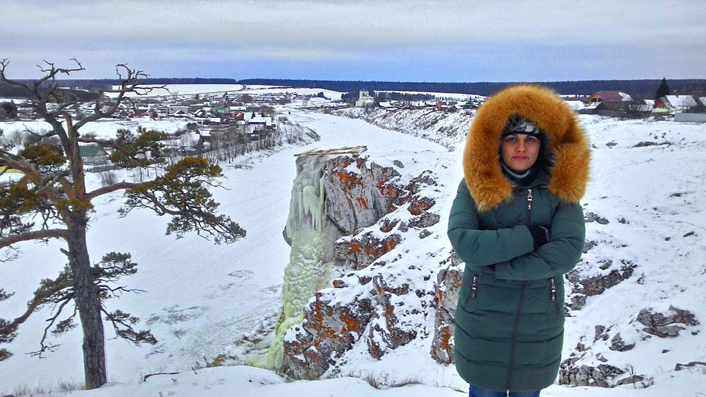 Фотография 40. В деревне Коуровка зимой. Снято на смартфон.