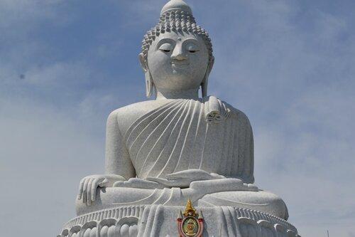 Биг Будда из мрамора