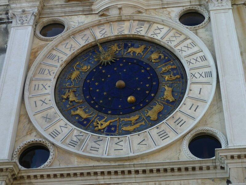 Италия, Венеция - часы на Сан-Марко. (Italy, Venice - Watch San Marco)
