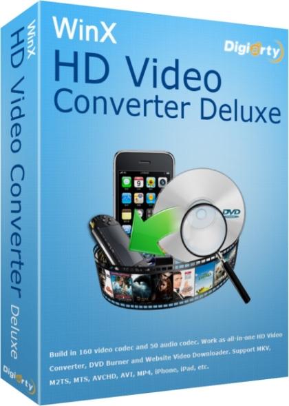 WinX HD Video Converter Deluxe 5.5 + Русификатор