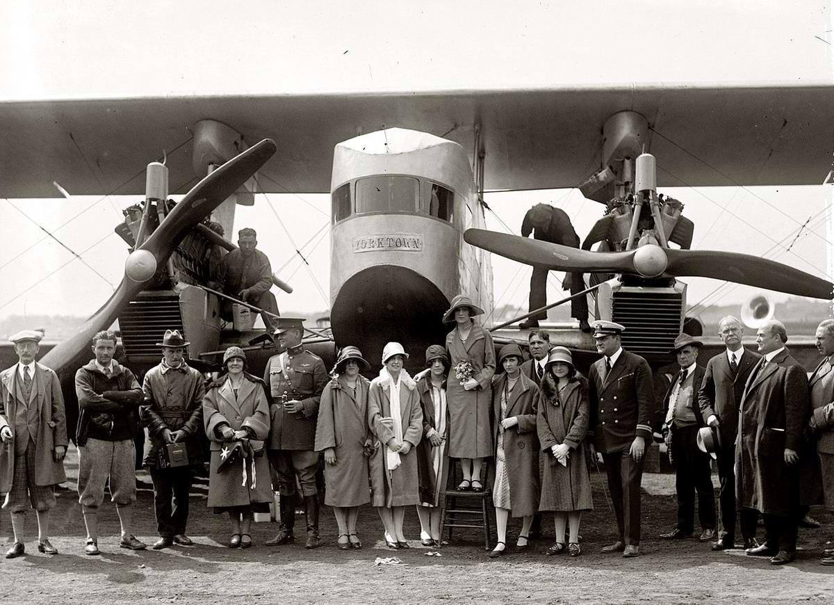 Самолеты и пилоты начала 20-го века на снимках американских фотографов (31)