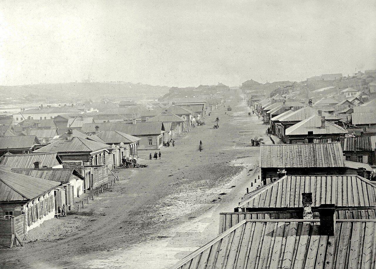 Мало - качинская улица. Вид на восток