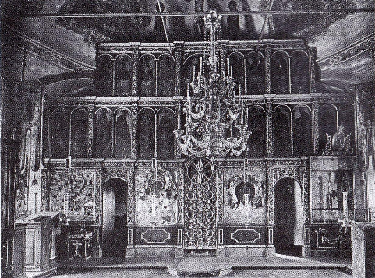 Церковь Николая Чудотворца. Главный иконостас