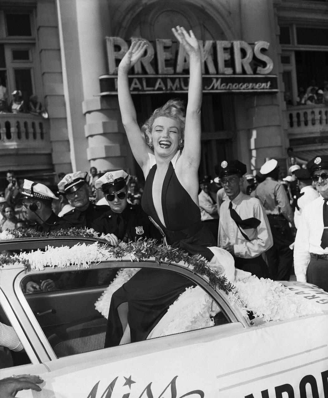 Marilyn Monroe in Parade
