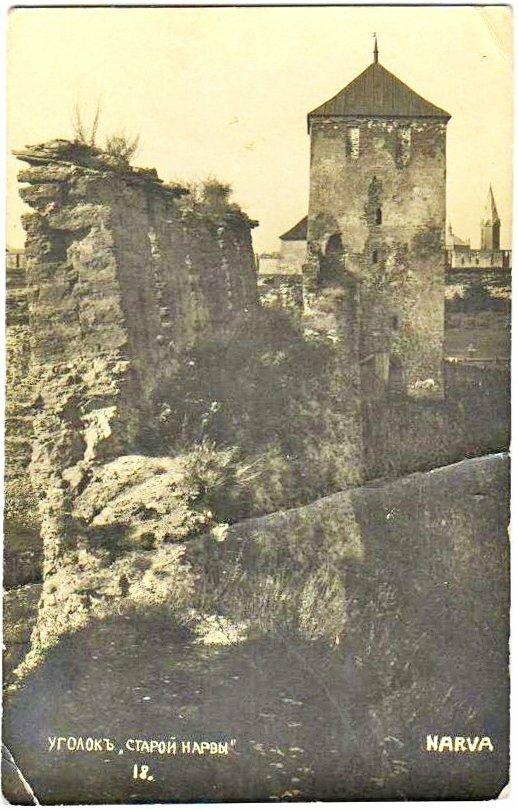 Вид Набатной башни (бывшая Воротная башня до постройки Переднего города)