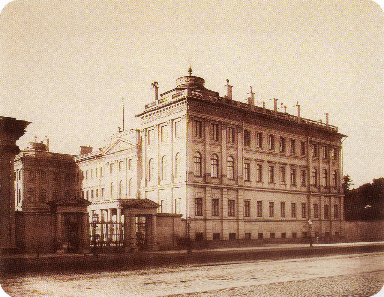 Аничков дворец. 1850-е