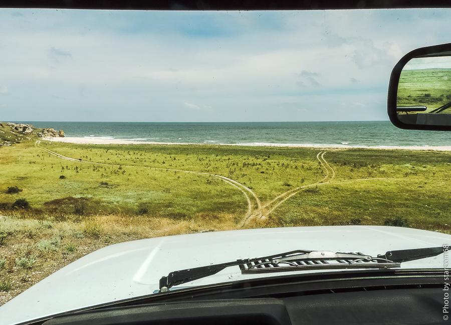 Генеральские пляжи и Караларская степь
