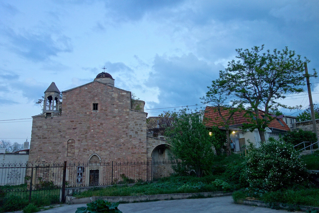 армянский храм, 1408
