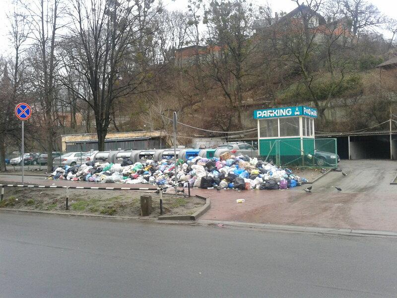 Мусорные хроники Львова