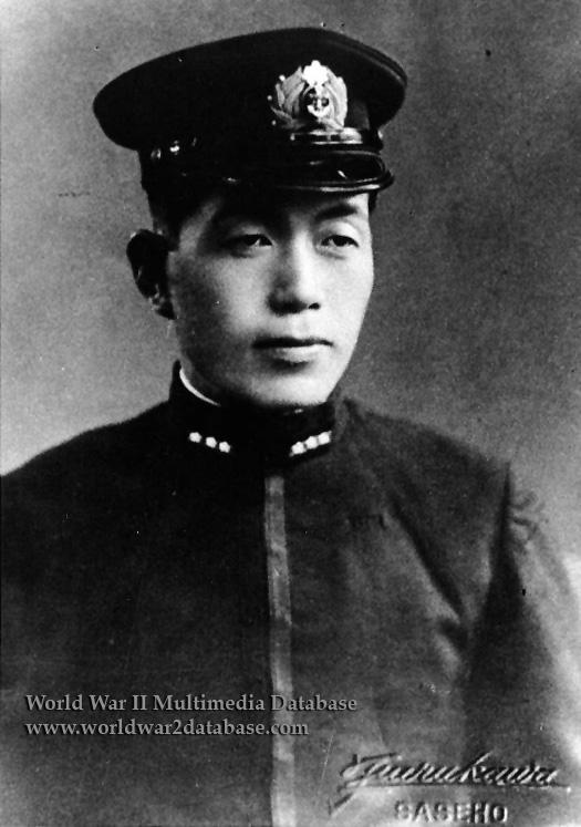 Imperial Japanese Navy Lieutenant Michio Kobayashi