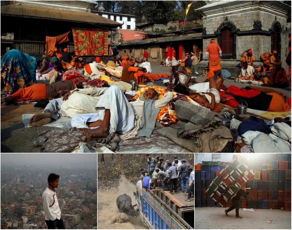 Снимки повседневной жизни в Непале