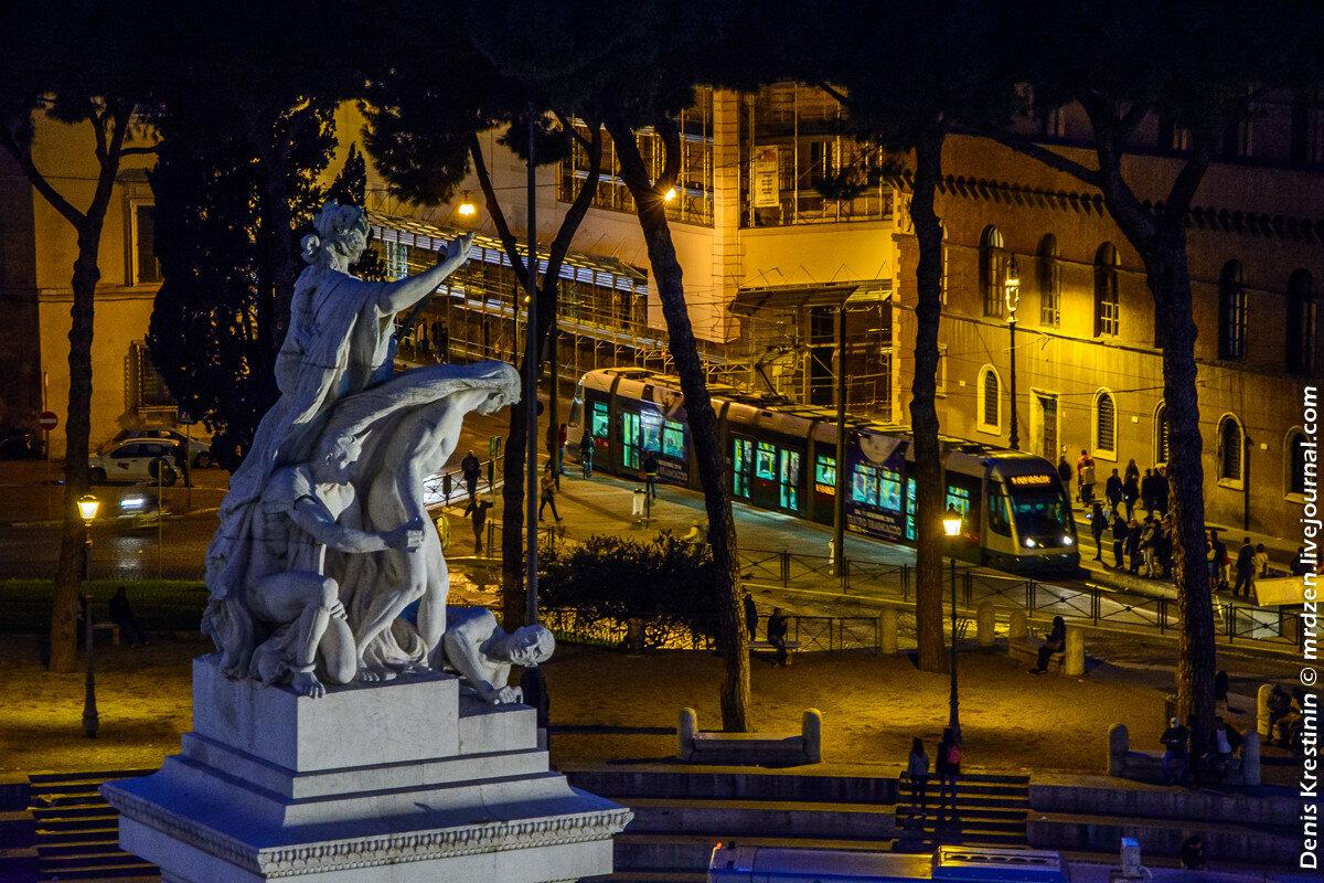 Римский трамвайчик