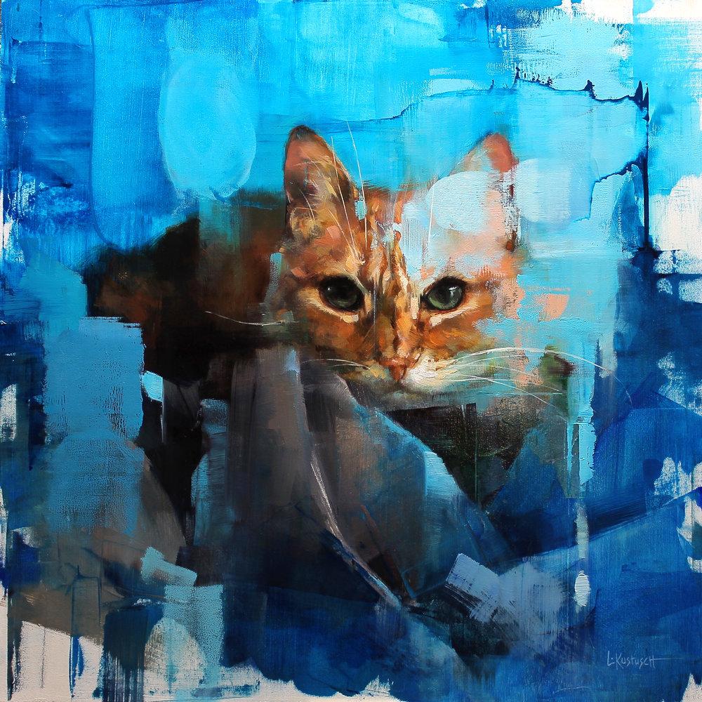 Котики и птицы Lindsey Kustusch