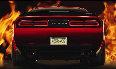 Купе Dodge Challenger Demon может само определять тип применяемого бензина
