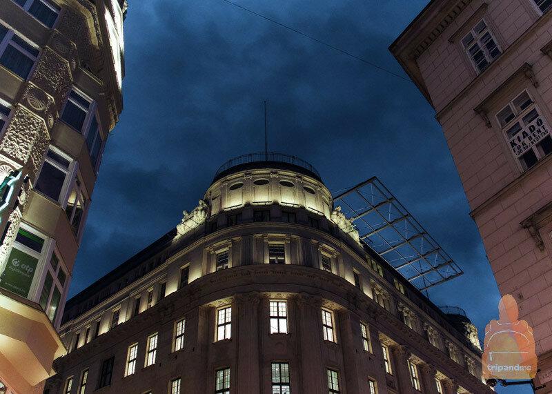 На улице Ваци много отелей