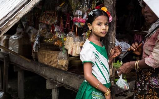 в Мьянме (или Бирме)