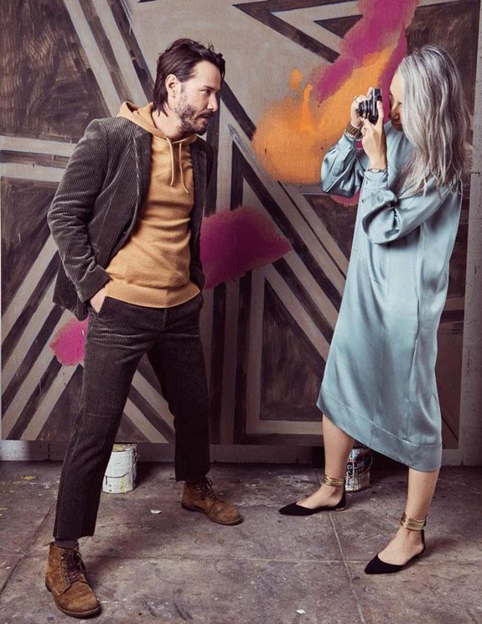 Киану Ривз в Vogue