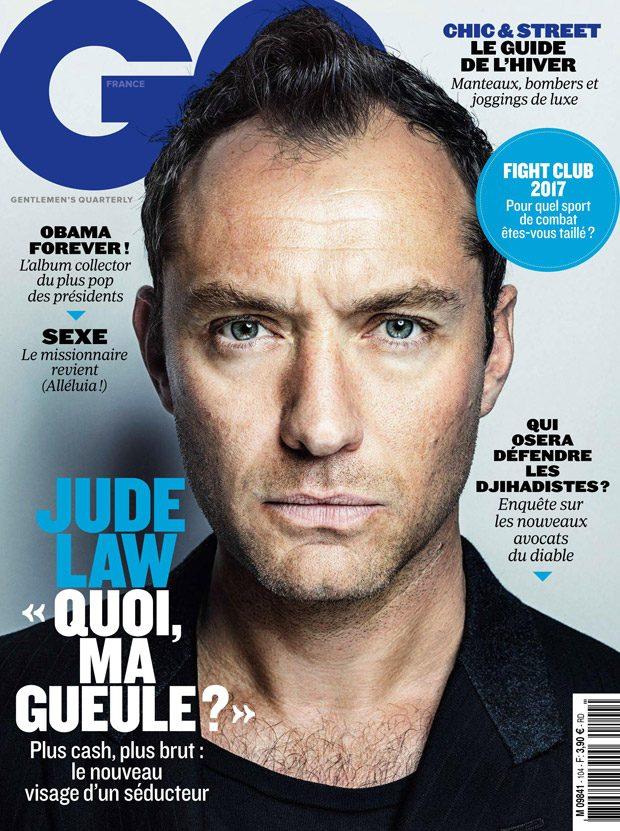 Джуд Лоу в GQ France