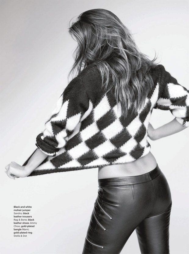 Николь Шерзингер в Glamour