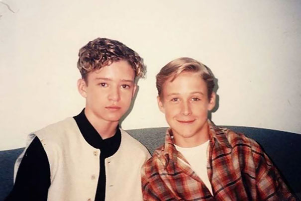 13-летний Джастин Тимберлейк и 14-летний Райан Гослинг, 1994 год.