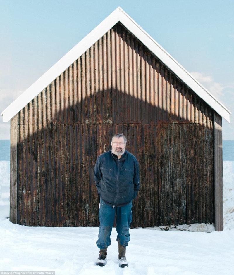 Фермер в деревне Elduvik.