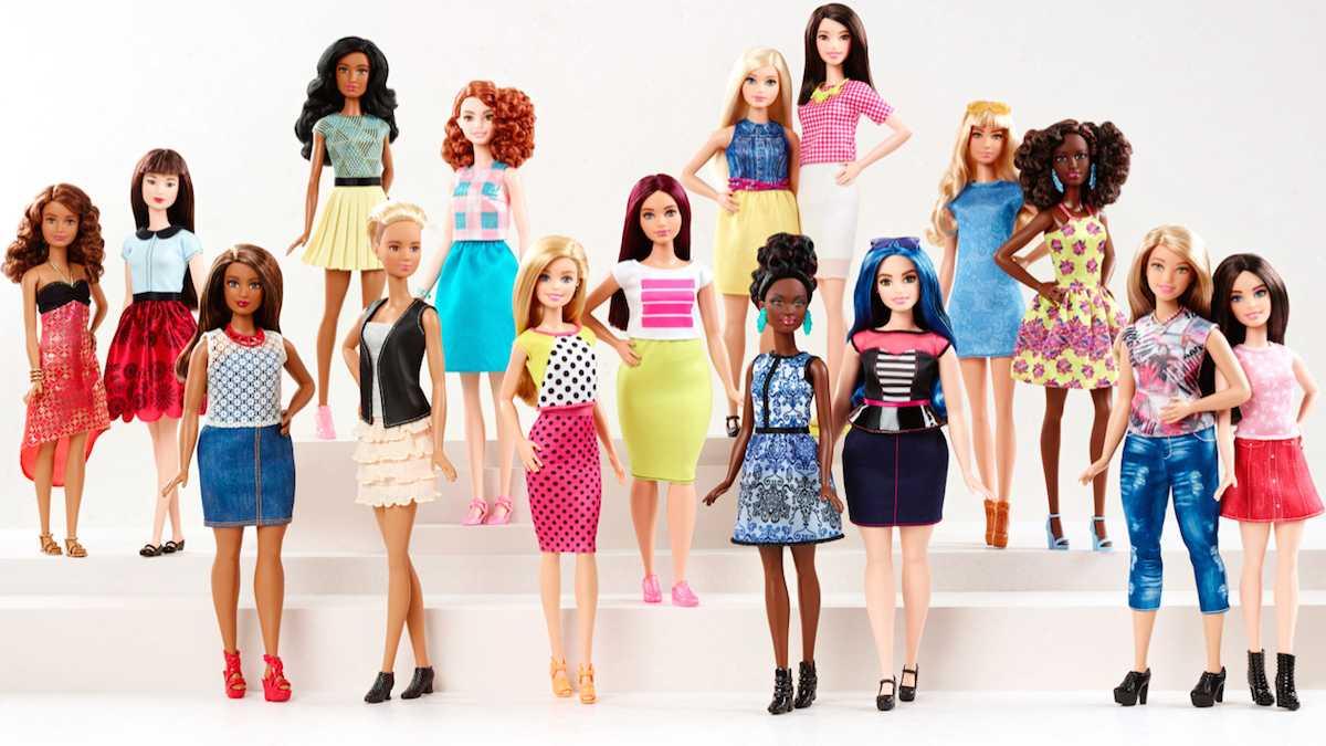 25. Новая коллекция кукол Барби, которые наконец-то становятся похожими на обычных людей.