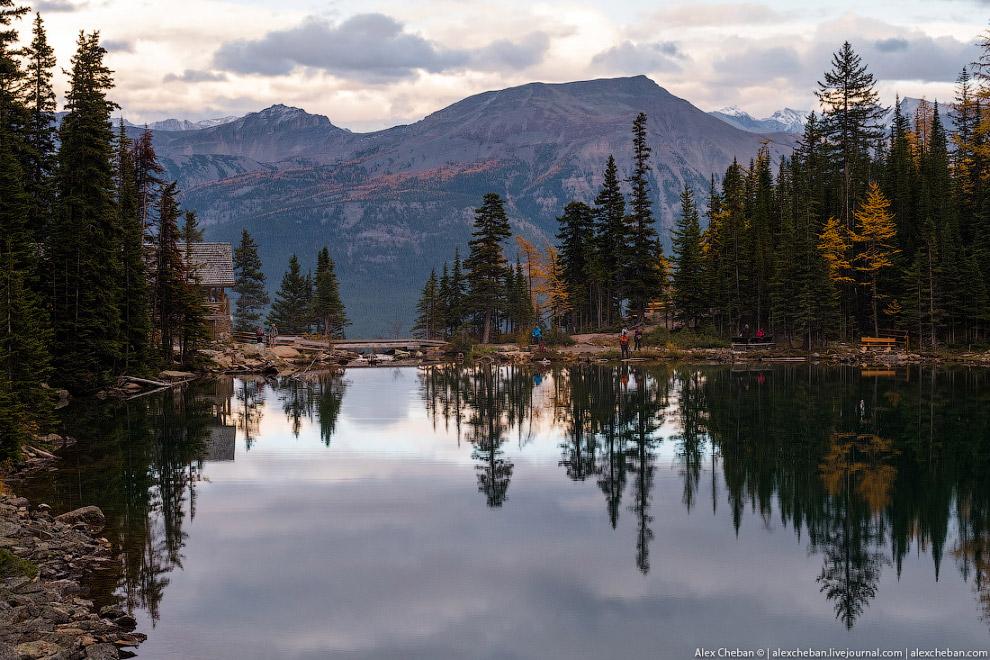 18. Всего за неделю мы посетили четыре национальных парка: Banff, Jasper, Yoho и Kootenay.
