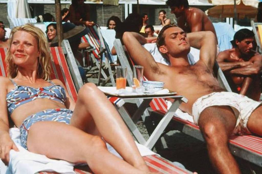11. Гвинет Пэлтроу и Джуд Лоу, 1999 год. Кадр из фильма «Талантливый мистер Рипли»