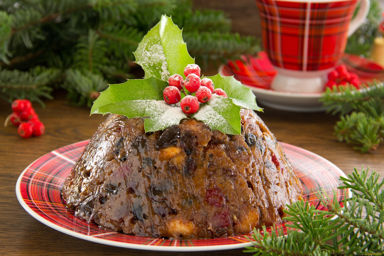 Рождественский пудинг. Без него в Великобритании не может обойтись ни один рождественский праздник.