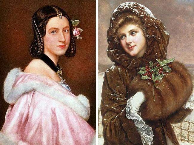 Королева Виктория запретила использовать косметику . Тем неменее это непомешало женщинам найти вых