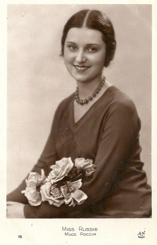 Мисс Англия Марджори Росс.