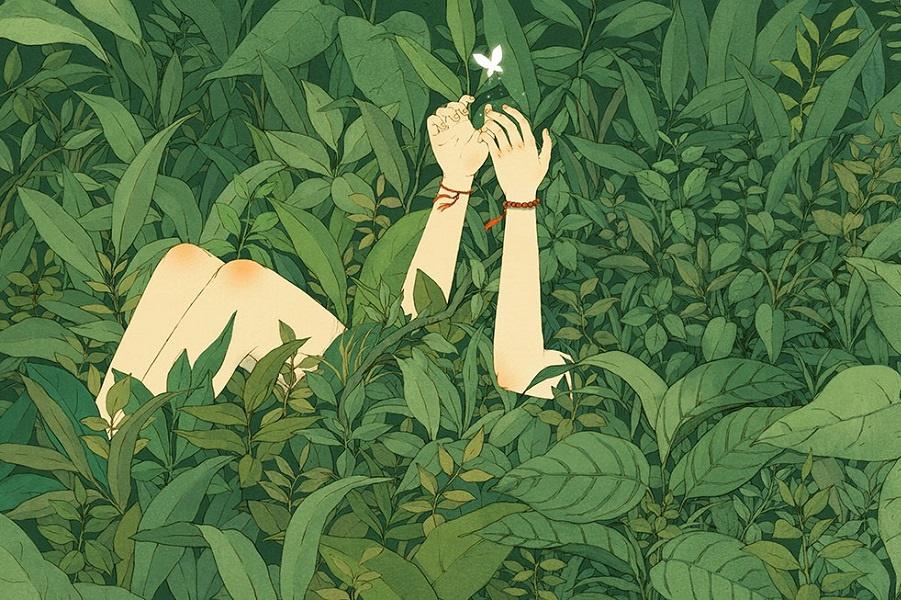 Прекрасные иллюстрации Цзинь XingYe