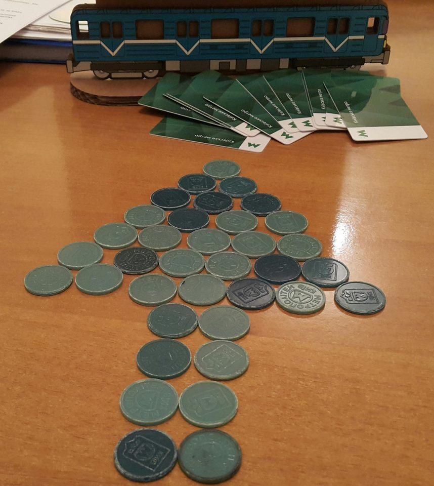 ВКиевском метрополитене поведали подробности программы поограничению продажи жетонов