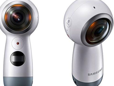 Samsung представила панорамную камеру Gear 360 второго поколения