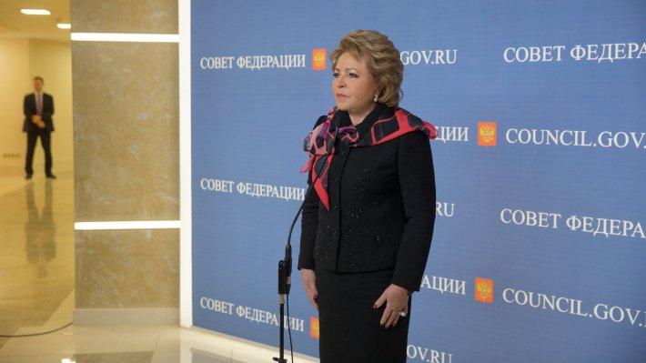 Матвиенко поручила выяснить, почему Гидрометцентр непредвидел шторм в столицеРФ