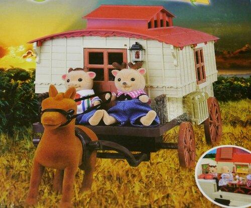 Карета-домик Happy Family 012-05 с лошадкой.JPG