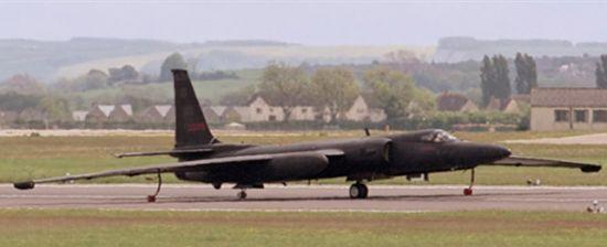 Посадка самолёта U-2