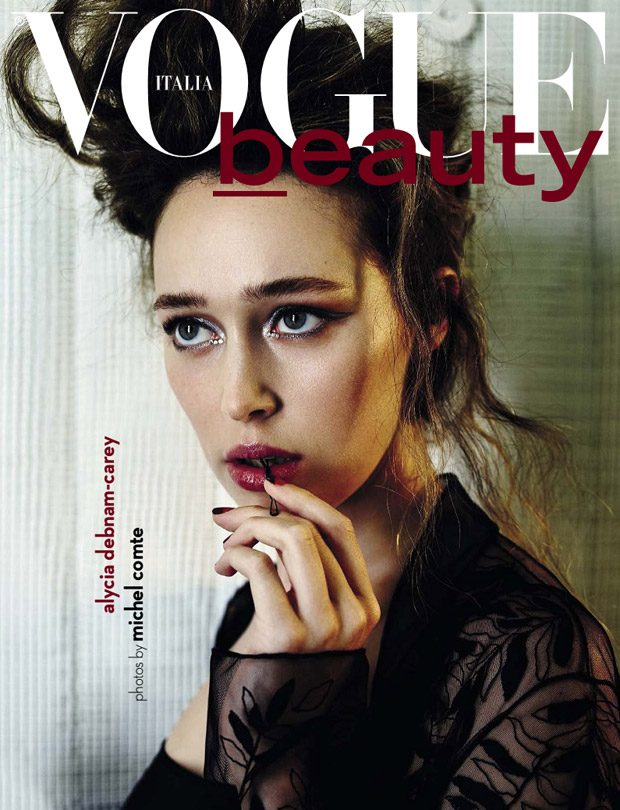 Alycia Debnam-Carey Covers Vogue Italia Beauty September 2016