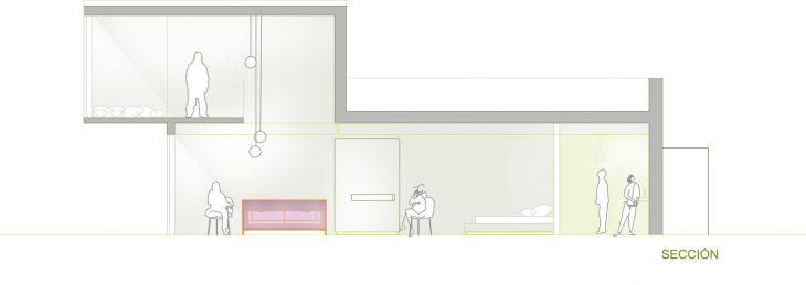 In this hotel, designed by the architect Sergio Peralta, Ideo Arquitectura has done some interior de