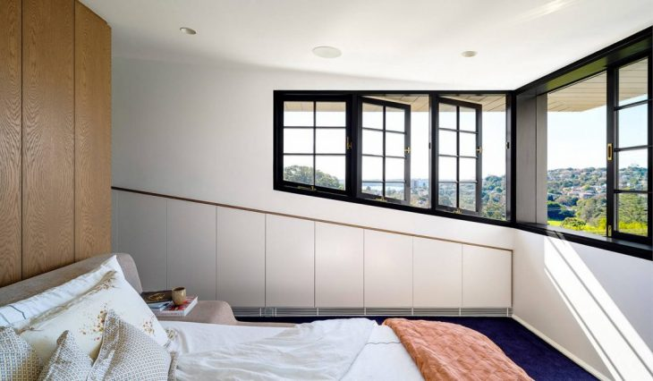 Row House by Luigi Rosselli Architects