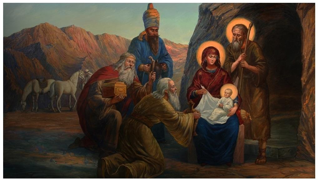 Филипп Москвитин. Рождество Христово