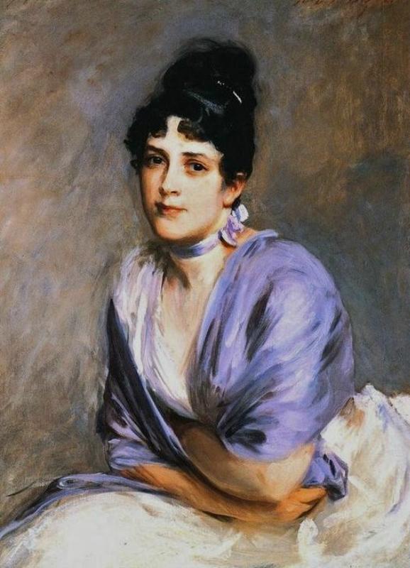 p6 John Singer Sargent (American painter, 1856-1925)  Mrs Frank Millet.jpg