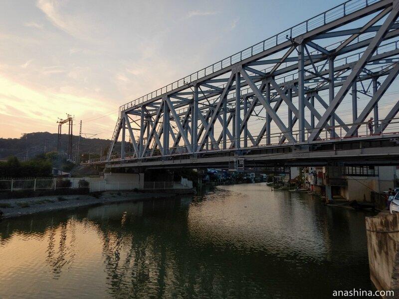 Железнодорожный мост через реку Дагомыс